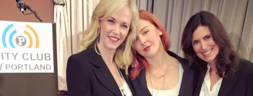 Portland City Club Friday Forum with Sheila Hamilton, Storm Large, and Dr. Chris Farentinos